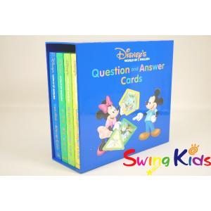 DWE ディズニー英語システム トークアロングQ&Aカード クリーニンク゛済 2015年購入 新品同様 ワールドファミリー 20190305838 中古|swing-kids