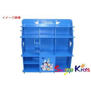 DWE ディズニー英語システム BOOKCASE 青いミッキー収納棚4段タイプ クリーニンク゛済 2019年購入 新品同様 ワールドファミリー 20190401928 中古|swing-kids