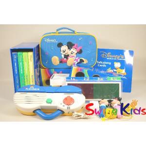 DWE ディズニー英語システム トークアロング+Q&Aカードセット クリーニンク゛済 2013年購入 新品同様含 ワールドファミリー 20190403804 中古|swing-kids