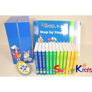 DWE ディズニー英語システム メインプログラム内ステップバイステップ クリーニング済 2008年購入 新品同様有 ワールドファミリー 20190502020 中古|swing-kids