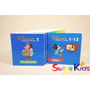 DWE ディズニー英語システム ストレートプレイDVD クリーニンク゛済 2013年購入 新品同様大多数 ワールドファミリー 20190502905 中古|swing-kids