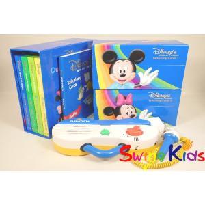 DWE ディズニー英語システム トークアロング+Q&Aカードセット クリーニング済 2012年購入 動作良好 ワールドファミリー 20190505604 中古|swing-kids