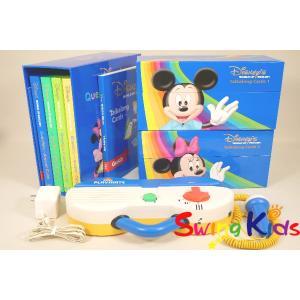 DWE ディズニー英語システム トークアロング+Q&Aカードセット クリーニング済 2012年購入 動作良好 ワールドファミリー 20190600904 中古|swing-kids