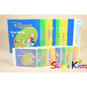 DWE ディズニー英語システム シングアロング絵本とCD クリーニング済 2017年購入 全新品同様...