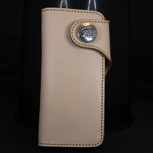 財布 本革製 ロングサイズウォレット 当店オリジナル ナチュラルカラー 送料無料|swingdog