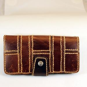 財布 本革製 牛革製 手縫い ロングサイズ 送料無料|swingdog