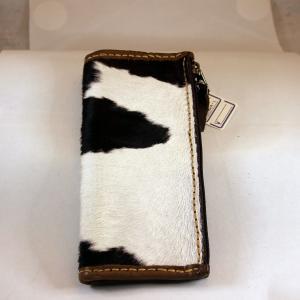財布 本革製 牛毛皮 ロングサイズウォレット 送料無料|swingdog