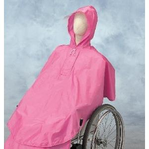 車椅子用レインコート ケアーレイン セパレートタイプ 上のみ エンゼル 雨具 カッパ ポンチョ
