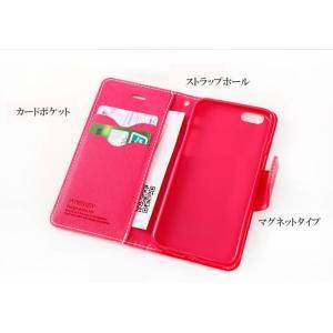 047519b729 ... MERCURY iPhone6/6s レザーケース 手帳型ケース かわいい ストラップホール付、カードポケット ...