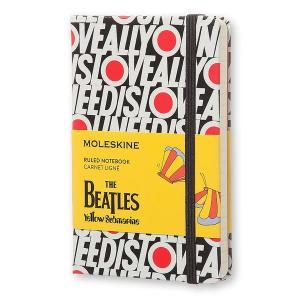 史上最も成功したバンドとして名高い「ビートルズ」をテーマにデザインされた限定版ノートブック。 ブラッ...