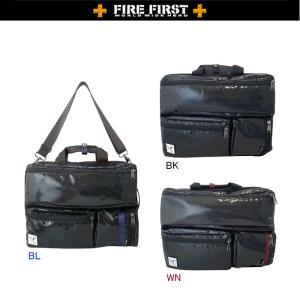 FIRE FIRST ファイヤーファースト  FFDP-113 FFカーボン柄コーデュラビジネス3WAY 大 本州送料無料|switch