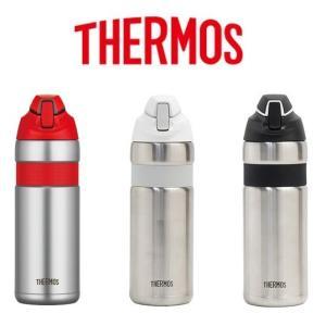 サーモス THERMOS FFQ-600 真空断熱ストローボトル ステンレス|switch