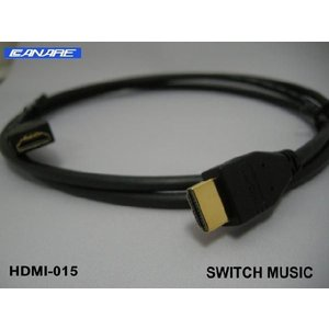CANARE ハイスピードHDMIケーブル HDM01 1m