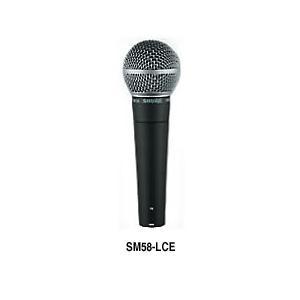 SHURE シュアー SM58-LCE ダイナミック・マイクロフォン|switchmusic