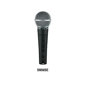 SHURE シュアー SM58-SE スイッチ付きダイナミック・マイクロフォン|switchmusic