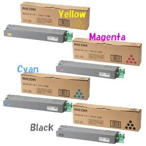 リコー SPトナーC740H [4色セット] (RICOHリサイクルトナー) [RICOH SP C740 C750 C751]|sworld