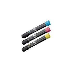 富士ゼロックス CT202055-57 [カラー3色セット] 大容量 (FUJI XEROXリサイクルトナー) [DocuPrint C4000 d:ドキュプリント]|sworld