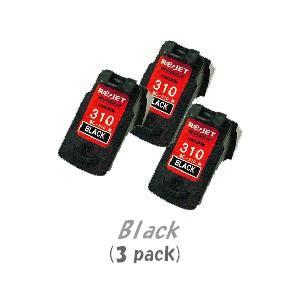 キャノン BC-310(ブラック)[3個入り] (CANONリサイクルインク) (PIXUS iP2700 MP270 MP280 MP480 MP490 MP493  :ピクサス)|sworld