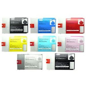 エプソン IC24(全8色) (EPSONリサイクルインク) ※3個以上ご購入で送料無料 (色組合せ自由)|sworld