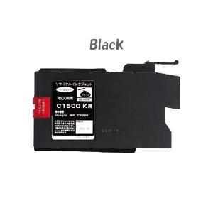 リコー MPカートリッジC1500(ブラック)約3000枚 (RICOHリサイクルインク) [imagio MP C1500:イマジオ]|sworld