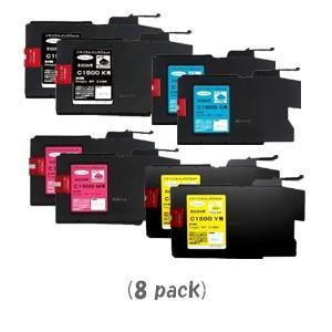 リコー MP-C1500[4色セット]×2パック (RICOHリサイクルインク) [imagio MP C1500:イマジオ]|sworld