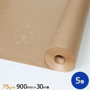 75gポリラミ紙 900mm×30m巻 5巻|sy-sukedati