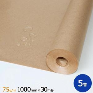 75gポリラミ紙 1000mm×30m巻 5巻|sy-sukedati