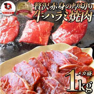 牛 ハラミ 焼肉(サガリ)1kg(250g×4P)牛肉 メガ盛り バーベキュー用 美味しい ホットプ...