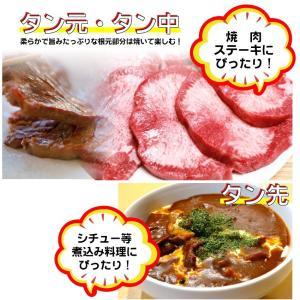 牛タン ブロック 約 1.1kg 前後 牛肉 タン 厚切り バーベキュー BBQ 送料無料|syabumaru|05