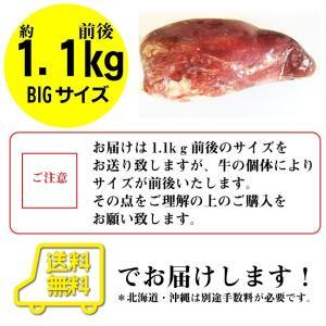 牛タン ブロック 約 1.1kg 前後 牛肉 タン 厚切り バーベキュー BBQ 送料無料|syabumaru|09