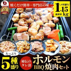 焼肉 ホルモンセット 5種盛り  食べ比べ5人前 ホルモン 送料無料|syabumaru