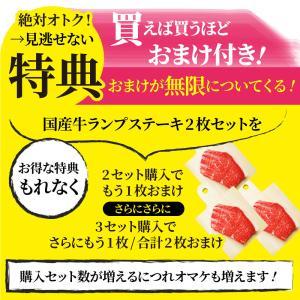 ギフト 国産牛 ランプ ステーキ 赤身 セット 150g×2枚 送料無料|syabumaru|16