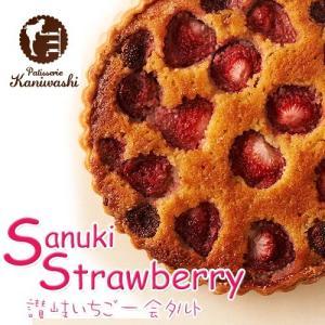 讃岐 いちご一会 タルト (15cm) 苺 かにわし たると ケーキ 老舗 syabumaru