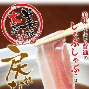 食品 豚バラ すきしゃぶ セット 2〜3人前 ギフト 送料無料
