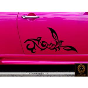 カードアコーナーステッカー07★車用バイナルグラフィック痛車等ワイルドスピード系 syarakugenesis