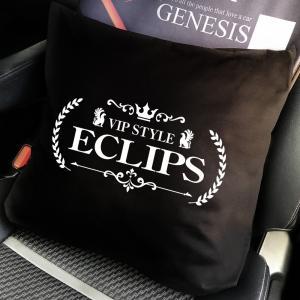 エクリプスeclipsクッション/車内インテリア/高級感のあるかっこいいラグジュアリーカスタム/社外ctoa1|syarakugenesis