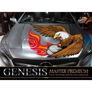 ファルコンフロントカーステッカーfk03■鷲バイナルグラフィック車ワイルドスピード系|syarakugenesis