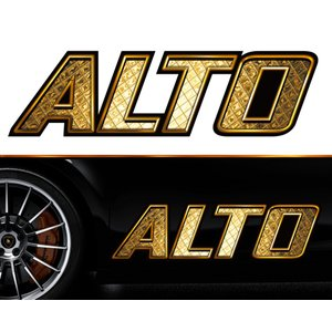 アルトaltoサイドステッカーggss03/両サイドセット特大サイズ/かっこいい上質バイナルグラフィック/ワイルドスピード系デカール/限定 syarakugenesis