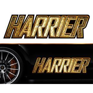 ハリアーharrierサイドステッカーggss21/両サイドセット特大サイズ/かっこいい上質バイナルグラフィック/ワイルドスピード系デカール/限定 syarakugenesis