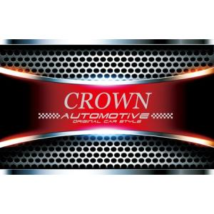 スポーティカーカスタムカーマットgosspB-CROWN★ワイルドスピード系車用クラウン|syarakugenesis