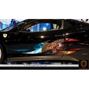 ドラゴンカーステッカーカラー02■バイナルグラフィック車用限定|syarakugenesis