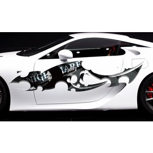 死神カーステッカーカラー10■バイナルグラフィック限定車ワイルドスピード系ゴスパンクロック|syarakugenesis