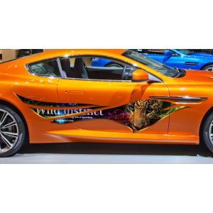 車 ステッカー かっこいい カスタム 豹 アニマル カーステッカー 車用 スポーツ カラー バイナルグラフィック ワイルドスピード系 ユーロ デカール 16 syarakugenesis