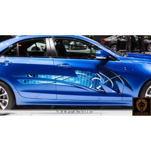 トライバルカーステッカーカラー18■バイナルグラフィック車ワイルドスピード系|syarakugenesis