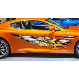 ファルコンカーステッカーカラー24■バイナルグラフィック車鷹ワイルドスピード系|syarakugenesis