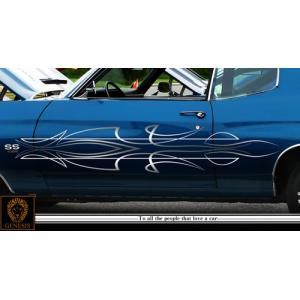 LOWRIDERカーステッカーローライダー4車用■ワイルドスピードトラッキンバイナル限定|syarakugenesis