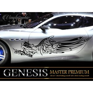 女神カーステッカー141■バイナルグラフィック車ワイスピ系限定カスタム かっこいいデカール 14色から選べる|syarakugenesis