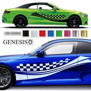 ラインカーステッカー168■バイナルグラフィック車ワイスピ系カスタム かっこいいデカール 14色から選べる|syarakugenesis