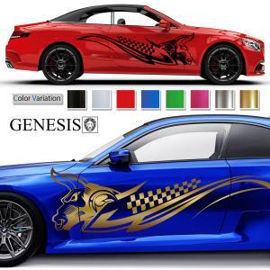 ブルカーステッカー197■バイナルグラフィック車ワイルドスピード系牛 かっこいいデカール 14色から選べる|syarakugenesis