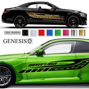 ラインカーステッカー208■バイナルグラフィック車カスタム かっこいいデカール 14色から選べる|syarakugenesis